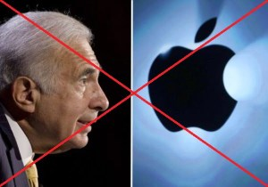 Carl Icahn vend Apple