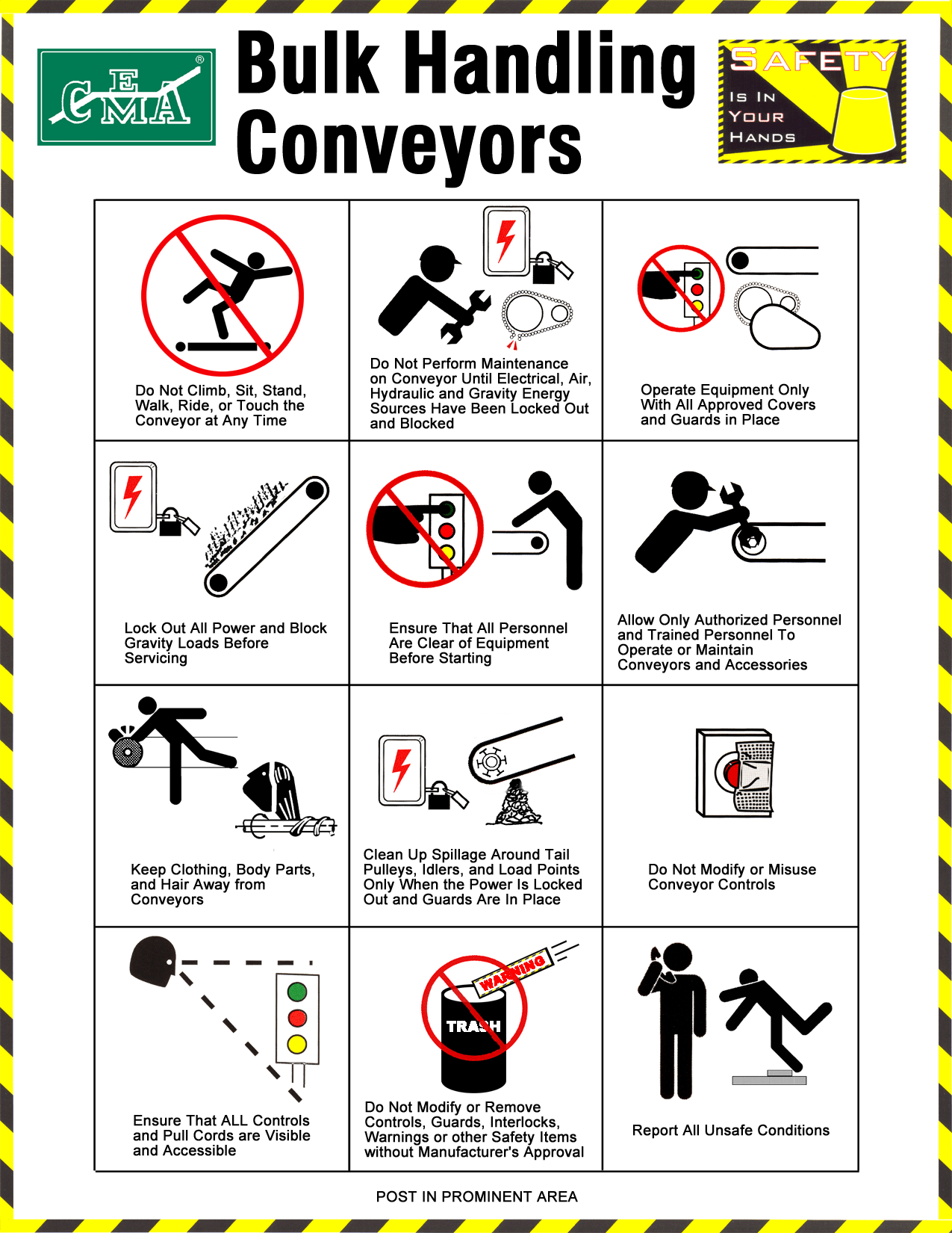 Conveyor Safety The Basics