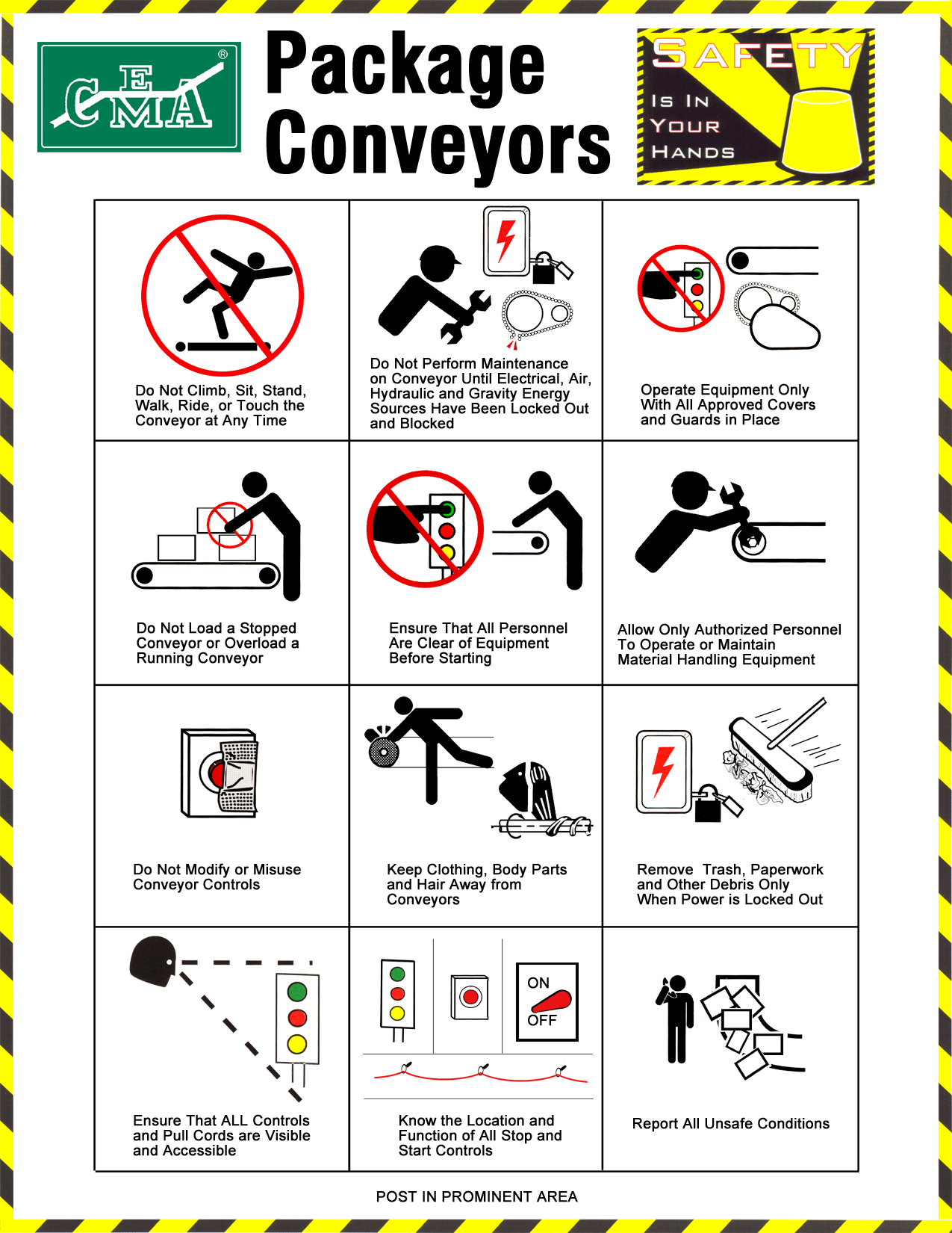 Cema Safety Posters