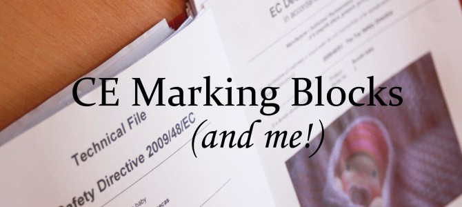 The CE marking blocks and me