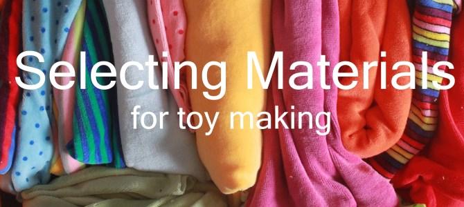 Selecting Materials (EN71-3)