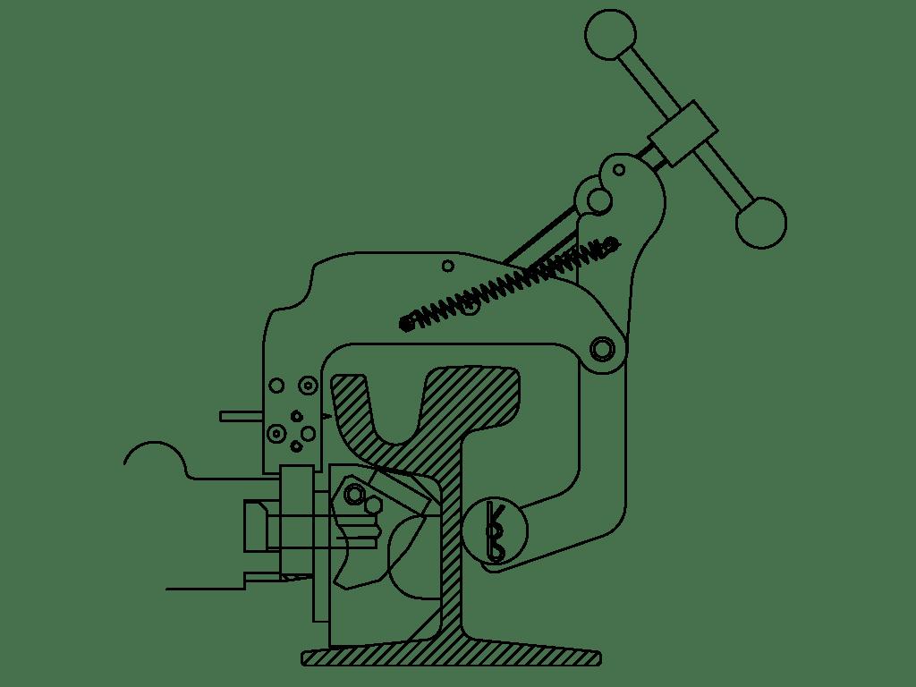 Rail Drilling Machines Ld 1p Eco