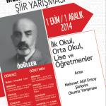 Mehmet Akif Ersoy Şiir Yarışması