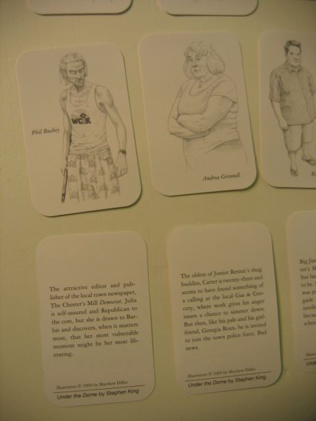 The back of the cards have descriptions of the depicted character.