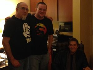 Brian, Stephen Kozeniewski, and Jack Ketchum (Copyright Bryan Killian 2016)