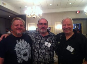Weston Ochse, Brian, and Joe R. Lansdale (Photo Copyright 2016 Mary SanGiovanni)