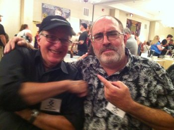 Tom Monteleone and Brian (Photo Copyright 2016 Mary SanGiovanni)