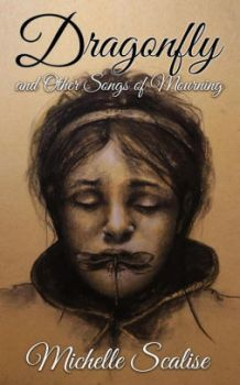 The cover of Dragonfly and Other Songs of Mourning by Michelle Sclarise