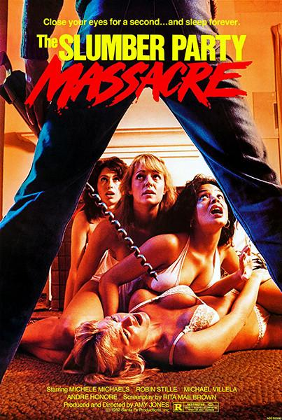 Poster for 1982 film The Slumber Party Massacre