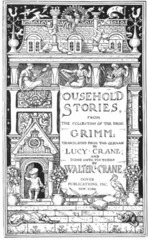 Cover of Household Stories