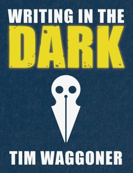 cover of Writing in the Dark by Tim Waggoner
