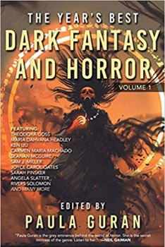 cover of The Year's Best Fantasy and Horror Volume 1 edited by Paula Guran