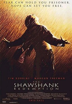theatrical poster for The Shawshank Redemption