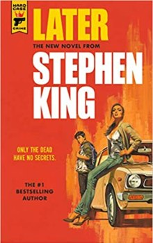 cover of Later by Stephen King
