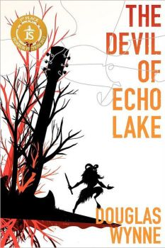 cover of the devil of echo lake by douglas wynne