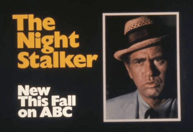 old ad for Kolchak the Night Stalker
