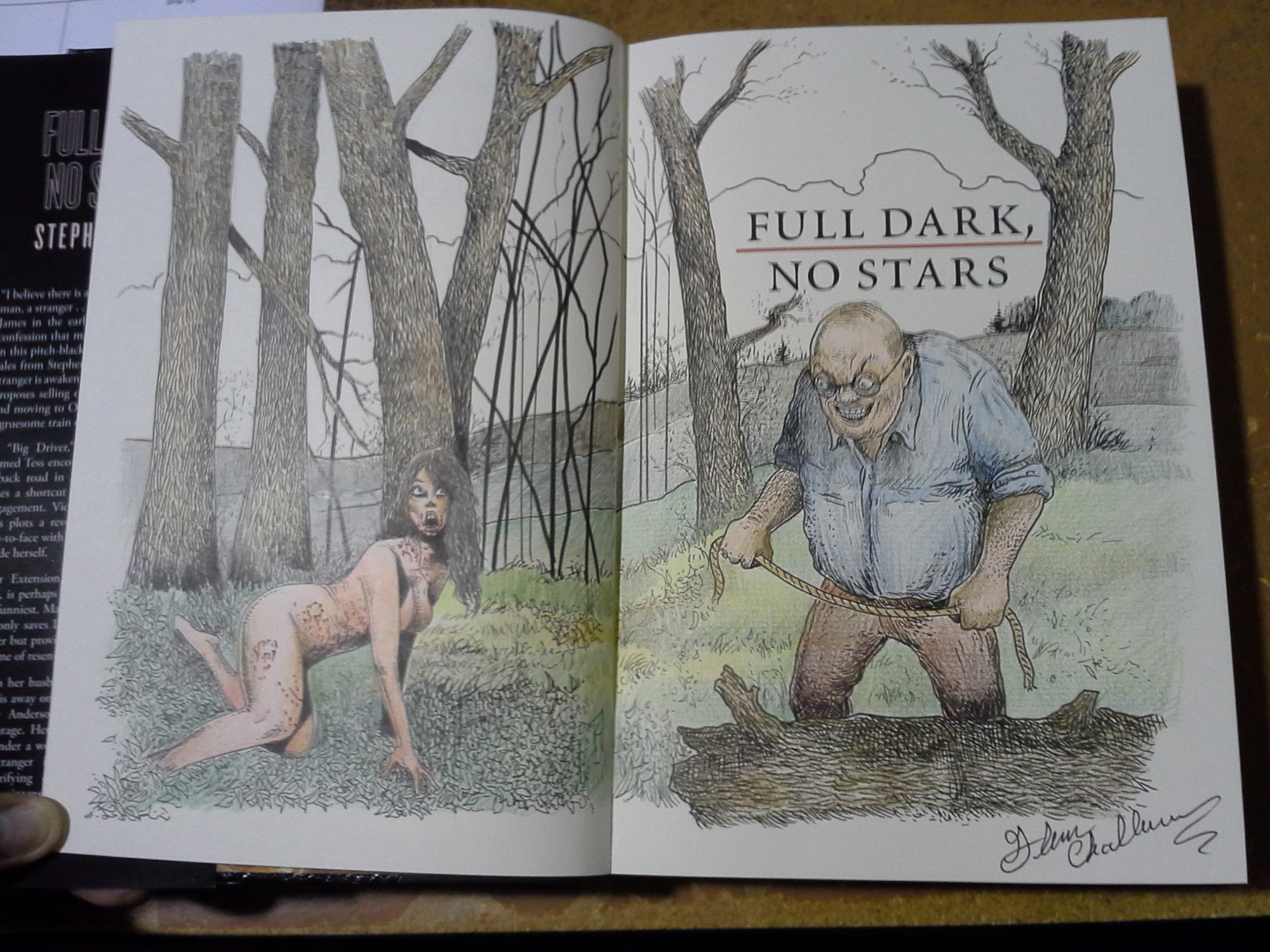 Photos Of Our Deluxe Lettered Edition Full Dark No Stars
