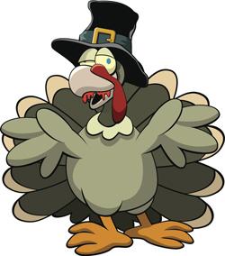 Zombie Turkey!