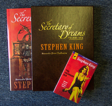 The Secretary of Dreams Gift Edition Next To A Paperback