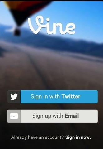 Vine'a Twitter ile giriş yapın!