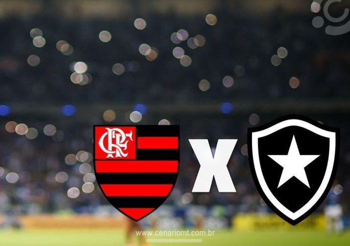Flamengo x Botafogo se enfrentam neste domingo em jogo válido pelo Brasileirão, veja onde assistir o flamengo