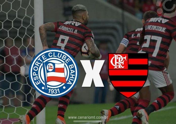 Onde assistir Bahia x Flamengo na tarde deste domingo (4), pela 13ª rodada do torneio nacional. Confira onde ver o jogo do Flamengo