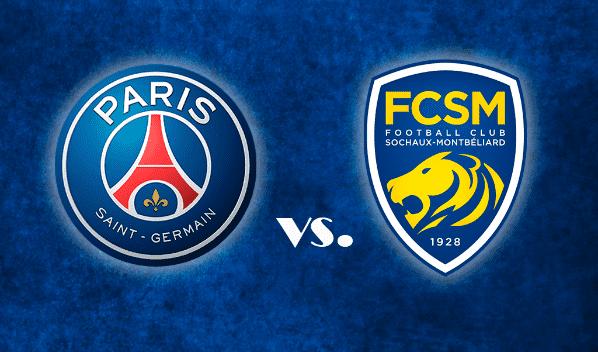 Onde assistir Paris Saint-Germain x Sochaux