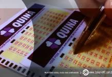 Resultado da Quina de hoje da CEF (Caixa Econômica Federal) último resultado da Quina no CenárioMT