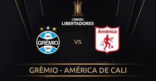 Grêmio x America de Cali ao vivo