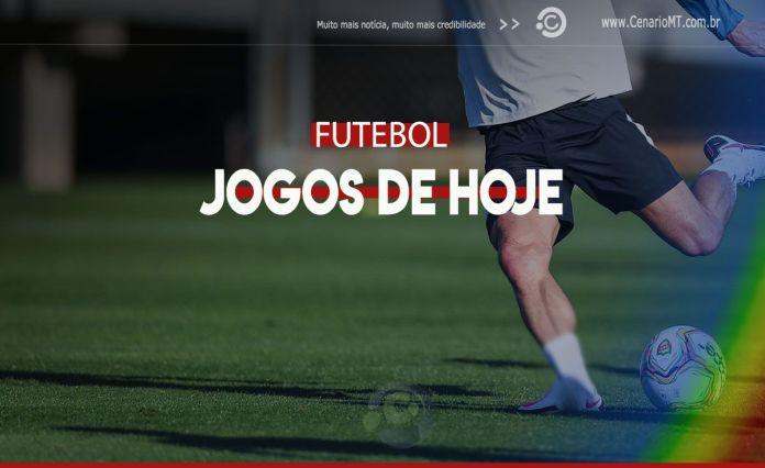 jogos de hoje - Onde assistir, Futebol na TV