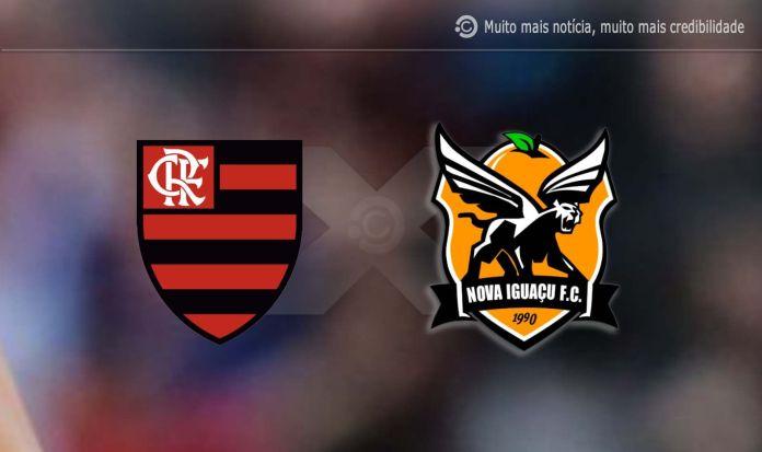 Flamengo x Nova Iguaçu Online hoje