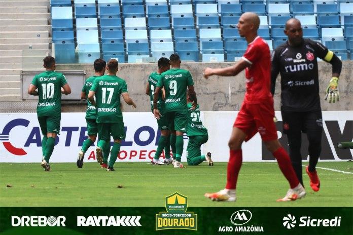 Com boa atuação, Cuiabá vence o União por 3 a 0!