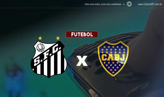 Santos x Boca Juniors Onde assistir