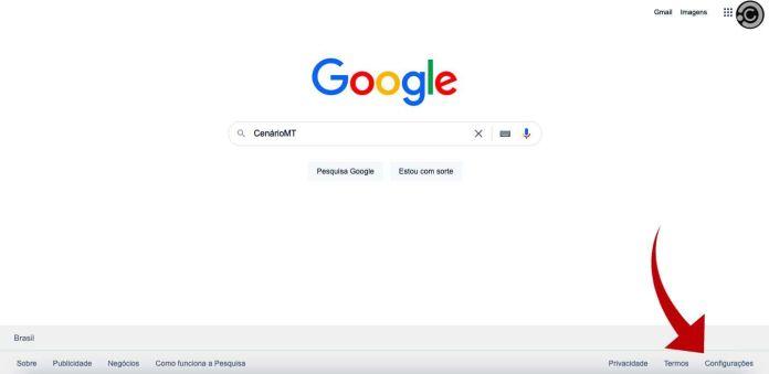 Como deixar o Google modo escuro? PC ganha modo noturno do buscador — Foto: Reprodução/CenárioMT