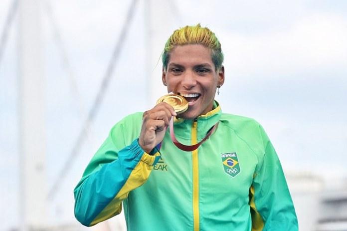 medalha olímpica de ouro