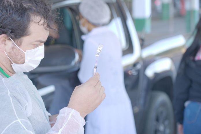 Vacina covid-19 em Lucas do Rio Verrde
