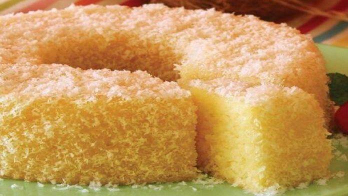 receita de bolo de coco