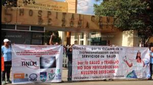 Marcha mitin en apoyo al sector salud(4)