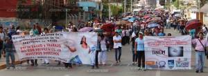 Marcha mitin en apoyo al sector salud(5)