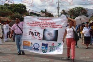 Marcha mitin en apoyo al sector salud(7)