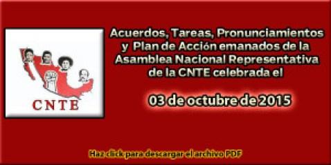 Acuerdos ANR 03 octubre 2015