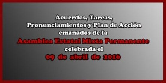 ACUERDOS Asamblea Mixta 09 abril 2016