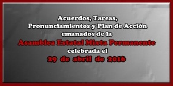 ACUERDOS Asamblea Mixta 29 abril 2016