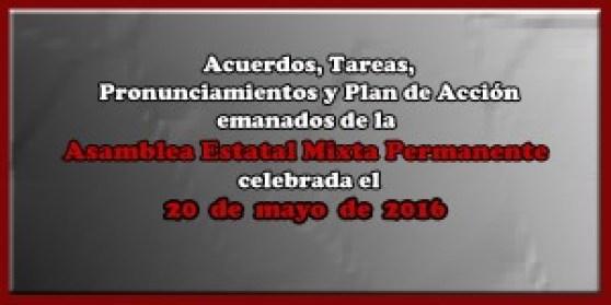 ACUERDOS Asamblea Mixta 20 mayo 2016
