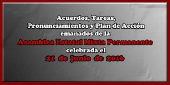 ACUERDOS Asamblea Mixta 21 junio 2016