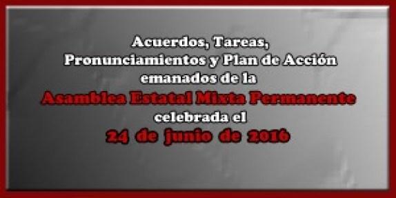 ACUERDOS Asamblea Mixta 24 junio 2016
