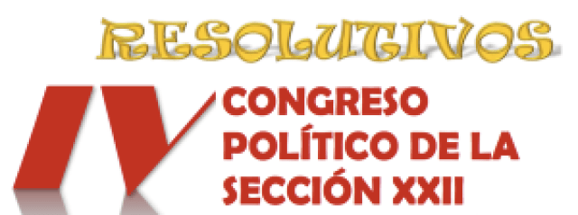 Imagen Resolutivos del IV Congreso Político noviembre 2016