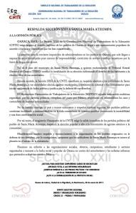 Boletín - ATZOMPA - 28 enero 2017