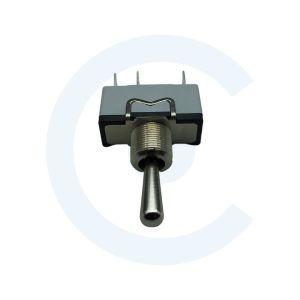 Conmutador de palanca, SP3T, (ON)-OFF-(ON), 10A - Conmutador serie 631 alto amperaje 003015005 - CENEL Europe - Componentes electrónicos