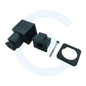Conector Molex cuadrado hembra para válvulas electromagnéticas - 00004 - Cenel Europe slu.